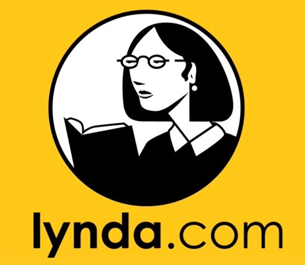 Picture of Lynda tutorial website