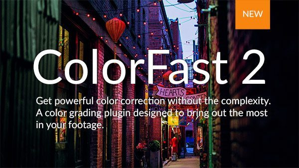 ColorFast 2 announcement image in front of a dark alley.