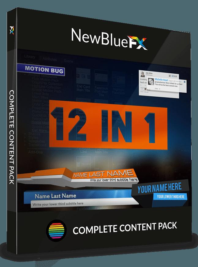 Video Titling Software: Video Title Design & Effect | NewBlueFX